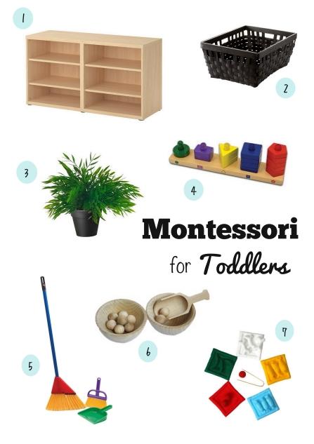 montessori toddlers